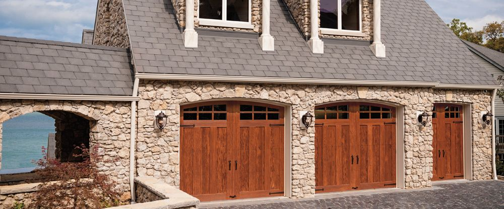 CANYON RIDGE COLLECTION. Faux wood carriage house style garage doors. & Garage Doors | Steamboat Springs CO | All Access Garage Door Inc.