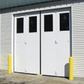 Lite/Four-fold Commercial Overhead Doors by Clopay