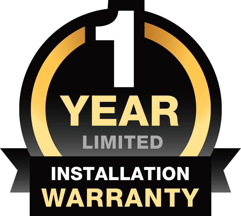 Clopay 1 Year Installation Warranty